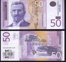 Serbia 50 Dinara. 2011 Pnew Mint Unc