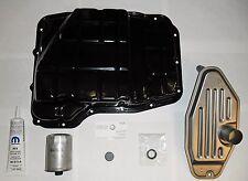 TRANSMISSION PAN & FILTER X2 45RFE 4.7L 4X4 RAM GRAND CHEROKEE DAKOTA 68065923AA