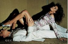 S/S 2003 Tom Ford For gucci Oriental Dress, Runway Look And Featured In Advert