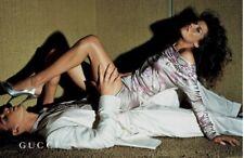 S/S 2003 Tom Ford para Gucci Oriental Vestido, Apariencia y aparece en anuncio de pista