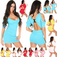 NEW TOP WOMEN CLUBBING MINI DRESS SEXY LADIES PARTY SHIRT SIZE 6 8 10 12 Blouse