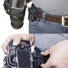Portable Waist Belt Buckle Strap Hanger Holder for Canon Nikon DSLR Cameras JJ