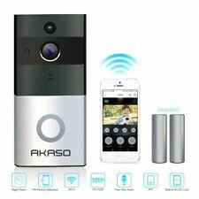 Akaso Wireless WiFi Video Doorbell Smart Door Ring Intercom Security Camera Bell