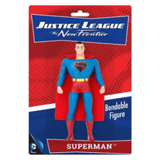 DC COMICS JUSTICE LEAGUE SUPERMAN BENDABLE FIGURE - THE NEW FRONTIER,COLLECTIBLE