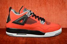 huge selection of a9b6f 80771 WORN TWICE Nike Air Jordan 4 IV Retro Toro Bravo Red Gray Size 6.5Y 408452