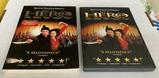 Quentin Tarantino Presents Jet Li In Hero Dvd W/Dust Jacket & Cover Excellent