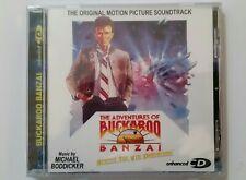 Buckaroo Banzai Motion Picture Soundtrack Enhanced CD Michael Boddicker New