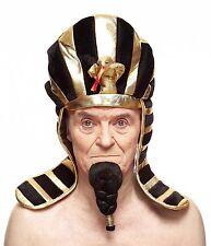 High quality Pharaoh black fake, self adhesive beard