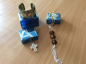 Avon Necklaces And Bangle