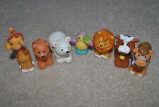Fisher Price Little People Noah's Ark Animals, set of 7, lion, giraffe, camel