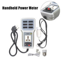 USB HP-9800 Handheld Power Meter LED Energy Saving Lamps Tester Universal 20A