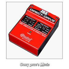 Radial JDX Direct-Drive Amp Simulator and DI box w 2 Free Cables