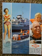WEST BEND CHRYSLER  outboard boat brochure catalog & price list - Vintage 1965