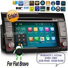 Android 8.1 Fiat Autoradio Bravo DVD Navigatore GPS TPMS DAB+OBD DTV BT SD 3871I