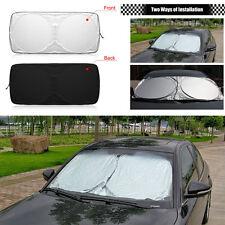 150cm*70cm Auto Car Front Windshield Cover Window Sun Shade UV Visor Protection