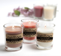 Personalized Scented Votive Jar Candles | 6 Scents | 4 Styles