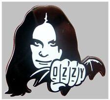 Black Sabbath Ozzy Osbourne Bat Metal & Enamel Pin Badge