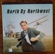 NORTH BY NORTHEAST●ALFRED HITCHCOCK●CARY GRANT●c1990●LASER DISC●136 MINUTES●RARE
