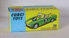 Repro Box Corgi Nr.319 Lotus Elan Coupe