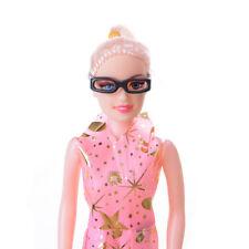 10pcs/set Fashion Doll Accessories Black Glasses For Barbie Doll GT