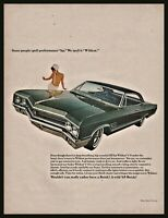 1965 BUICK Wildcat 2-door Hardtop Vintage Classic Car Photo AD