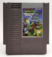 Tenage Ninja Muntant Turtles III Manhattan Project NES *RG Gallery* Nintendo 3