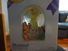 Classic Treasures Musical Angels Water Globe, plays How Great Thou Art