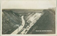 Dunstable chalk hill cutting  Charles smy local publisher real photo