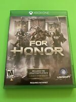 🔥 MICROSOFT XBOX ONE 🔥💯 COMPLETE WORKING GAME🔥FOR HONOR🔥