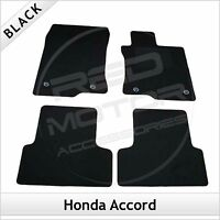 HONDA ACCORD Mk8 2008-2015 Tailored Carpet Car Floor Mats BLACK