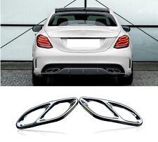 Auspuffblende Auspuff Abdeckung für Mercedes Benz A B C E GLE GLS GLC 14-18 #06