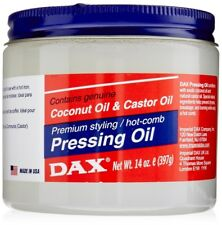 Dax Pressing Oil Jar Contains Coconut & Castor Oil Premium Styling Hot Comb