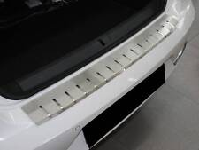Rear Bumper LUX Protector Stainless Steel Scuff Plate fit VW Passat B7 4d 2011-