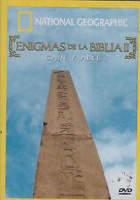 SEALED - Enigmas De La Biblia II DVD NEW Cain Y Abel SHIPS NOW !