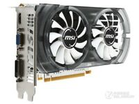 MSI NVIDIA GeForce GTX750 Ti 2GB Video Gaming Card 128bit DDR5 HDMI DVI