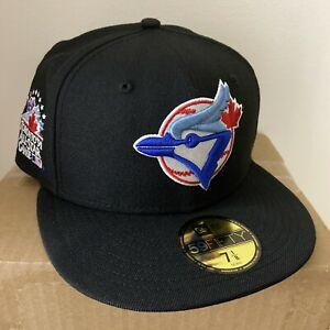 Topperz Exclusive Toronto Blue Jays 1991 ASG Blue UV  New Era Fitted Size 7 1/8