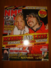 NME 2005 SEP 3 KILLERS PIXIES FOO FIGHTERS IRON MAIDEN