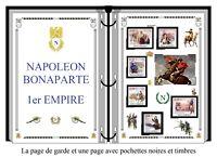 Album de timbres à imprimer   NAPOLÉON 1er EMPIRE