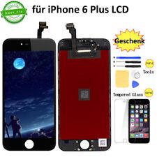 Display LCD für iPhone 6 PLUS mit RETINA Glas Scheibe Komplett Front SCHWARZ NEU