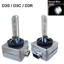2Pcs AC 6000K D3S D3R D3C HID Xenon Bulbs Lamp Replace Factory HID Headlights #E