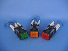 Omron A3SJ-801 illumininated LED switch