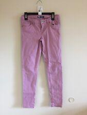 Girls Sz 12 Levi's Sateen Leggings Light Purple #45