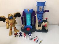 Imaginext Power Rangers Command Center Alpha,  Rita, Tall Goldar Figures + Lot