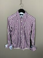 TED BAKER ARCHIVE Shirt - 15.5 - Striped - Great Condition - Men's