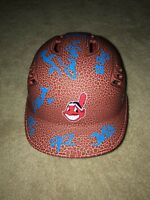 2018 CLEVELAND INDIANS TEAM SIGNED LOGO BASEBALL BATTING HELMET COA