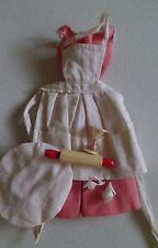 Vintage Barbie BBQ  outfit #962 from 1959-1963 W B/W tag