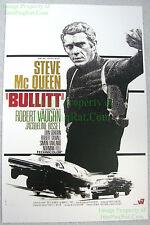 80's Vintage ☆ Steve McQueen ☆ BULLITT ☆ Lobby Card Poster ☆ Heavy Card Stock