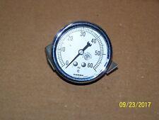 marsh-tuttnauer-2 5/8 inch pressure gauge- 0-60 psi autoclave sterilizer