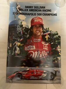 Danny Sullivan Miller American Racing 1985 Indianapolis 500 Champs Nascar Poster