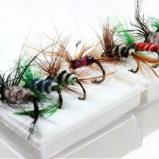 96pcs/box Assortment Trout Fly Fishing Flies Wet Dry Lure Bait Insect Catch Hook